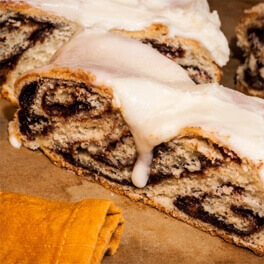 sliced Swedish coffee bread